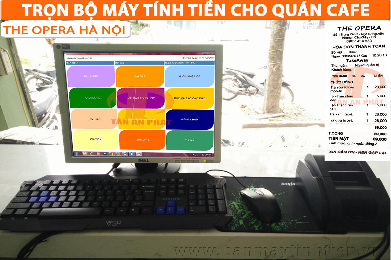 máy tính tiền cho quán cafe tại Cần Thơ