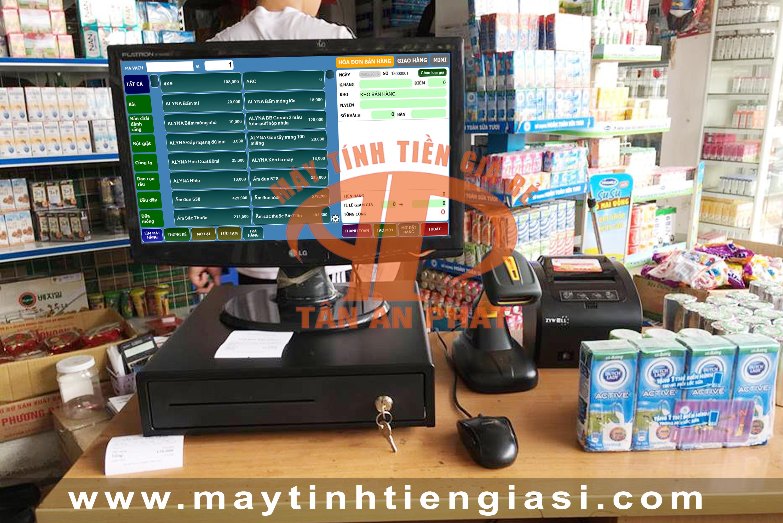 Máy tính tiền cho tạp hóa tại Hà Nội giá rẻ