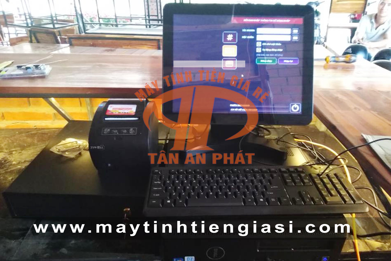 Máy tính tiền cảm ứng cho quán cafe tại Kiên Giang