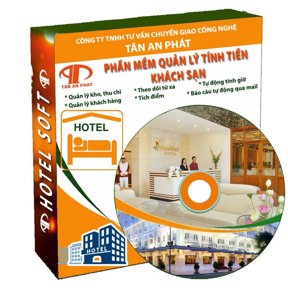 Phần mềm bán hàng tính tiền khách sạn giá rẻ