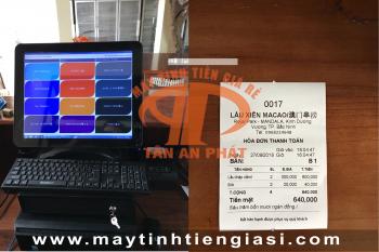 Máy tính tiền cảm ứng cho quán ăn tại Hà Nội