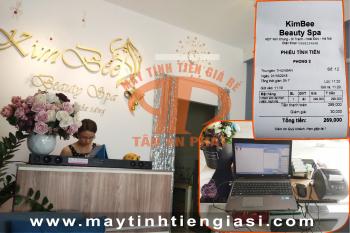 Máy tính tiền cho spa giá rẻ tại Hà Nội