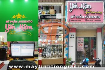 Máy tính tiền cho shop mỹ phẩm giá rẻ tại Vinh