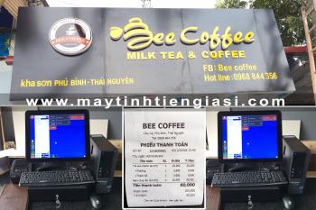 Máy tính tiền cảm ứng quán cafe trà sữa tại Thái Nguyên