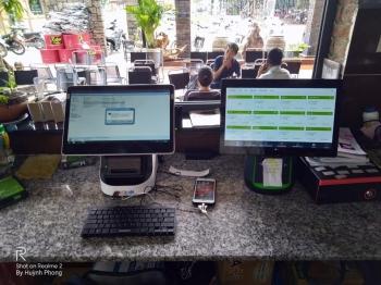 Máy tính tiền cảm ứng giá rẻ cho quán cafe tại Bạc Liêu