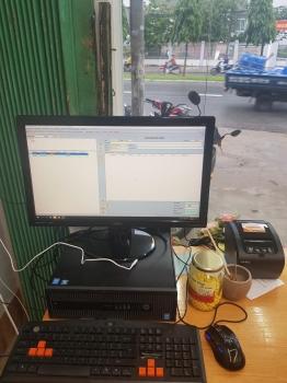 Máy tính tiền shop hoa online giá rẻ