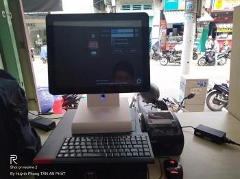 Máy tính tiền cảm ứng giá rẻ cho quán trà sữa tại hcm