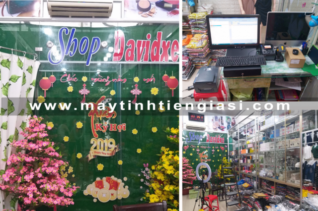 Máy tính tiền cho shop giá rẻ tại Trà Vinh