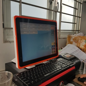 Máy tính tiền cảm ứng quán cafe tại Sóc Trăng