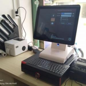 Máy tính tiền cảm ứng cho quán trà chanh giá rẻ tại hcm