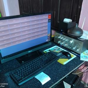 Máy tính tiền quán cafe giá rẻ trọn bộ