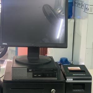 Thanh lý bộ máy tính tiền cho quán cafe, quán ăn - 0908.829.194