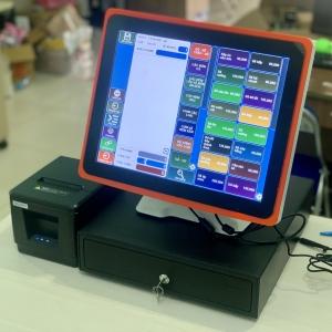 Thanh lý máy tính tiền cảm ứng quán cafe